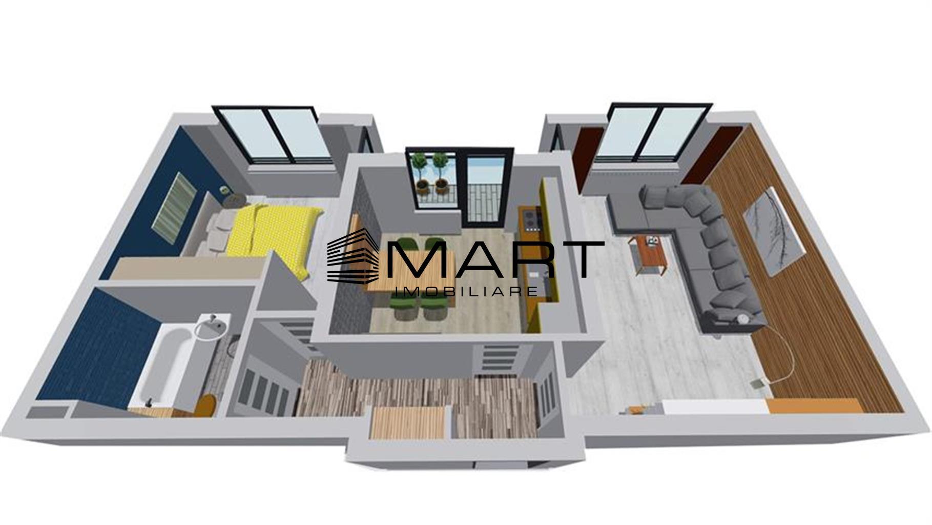 Apartament 2 Camere zona Doamna Stanca