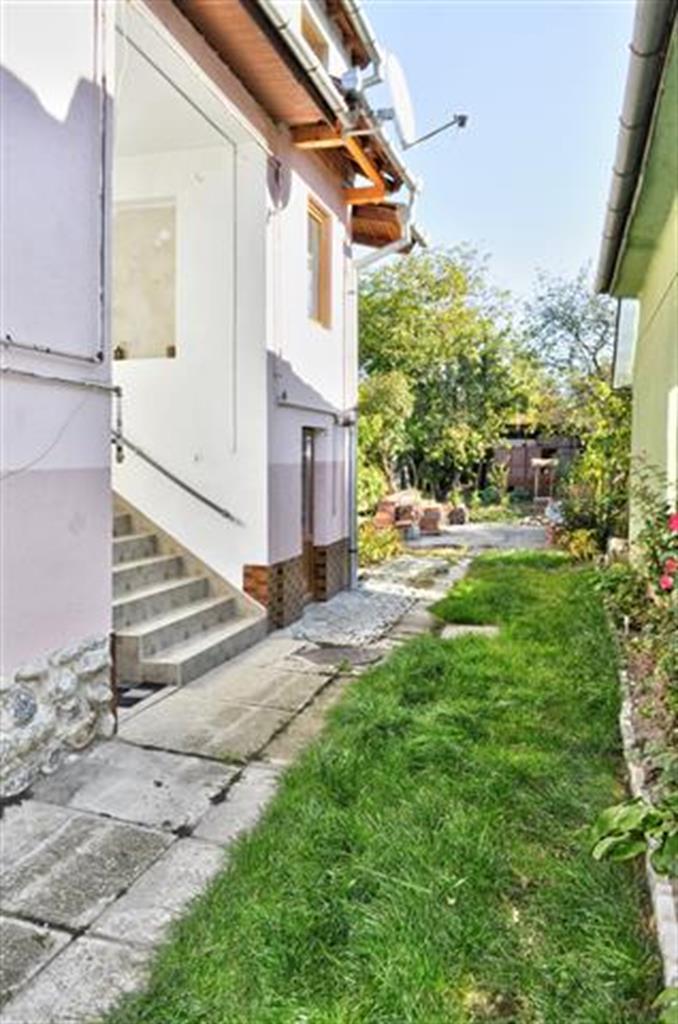 Casa singur in curte Lazaret